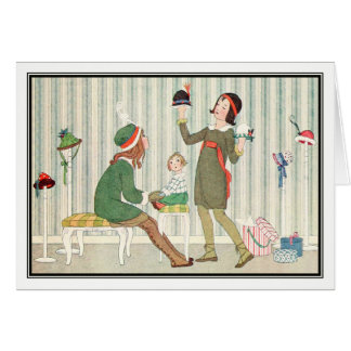 Buying Hats by H. Willebeek Le Mair Card
