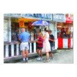 Buying Ice Cream at the Fair Custom Invite