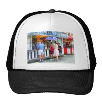 Buying Ice Cream at the Fair Trucker Hat