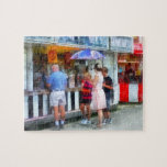 Buying Ice Cream at the Fair Jigsaw Puzzles