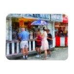 Buying Ice Cream at the Fair Magnet