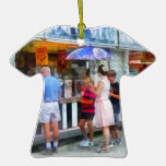 Buying Ice Cream at the Fair Ornaments