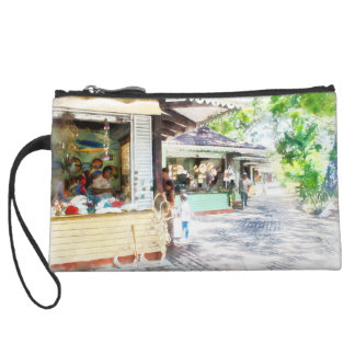 Buying items in these shops on the street wristlet purses
