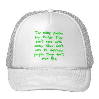 Buying Things Trucker Hat