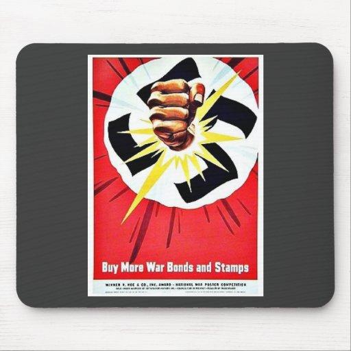 Buymore War Bondsandstamps Mouse Pad