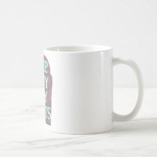 BuyMyStats Tombstone Cyan Coffee Mug