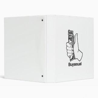 Buysexual Vinyl Binder
