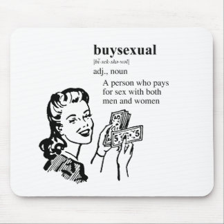 BUYSEXUAL MOUSE PAD