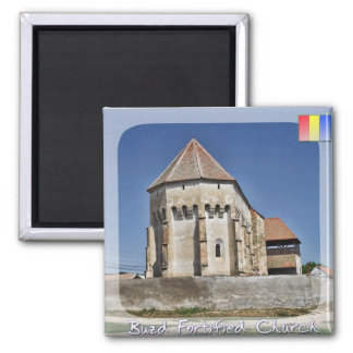Buzd fortificó la iglesia imán cuadrado