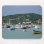 buzios boats mouse pads