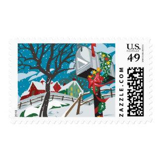Buzón, cortijo timbres postales
