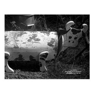 Buzón de la vaca tarjetas postales