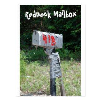 Buzón del campesino sureño tarjetas postales