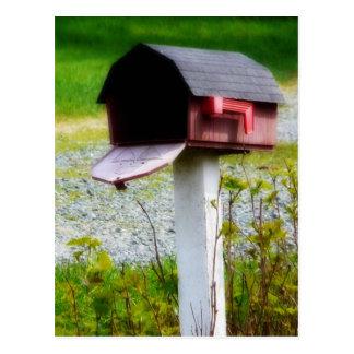 ¡Buzón del país - nos hemos movido! Tarjeta Postal
