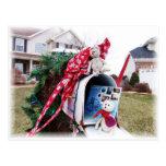 Buzón del tiempo del navidad de Frank&Leo Tarjeta Postal