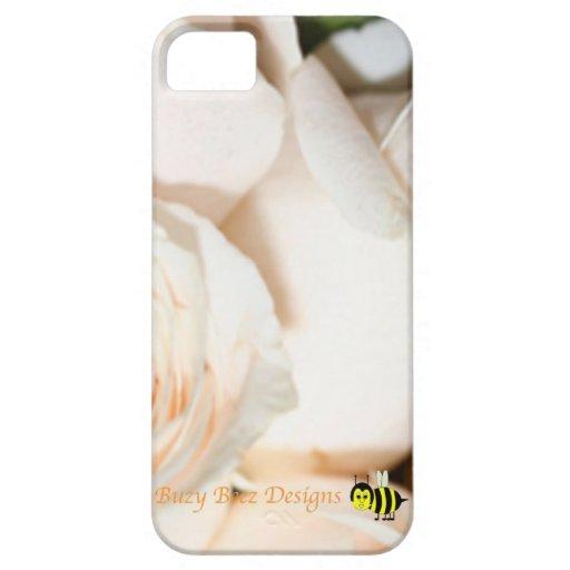 Buzy Beez diseña la cubierta floral de Iphone iPhone 5 Carcasa