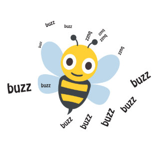 Funny Buzz Bee Cartoon Gifts on Zazzle