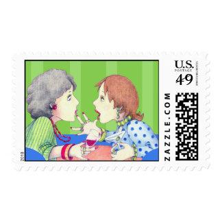 Buzz blue Postage Stamp