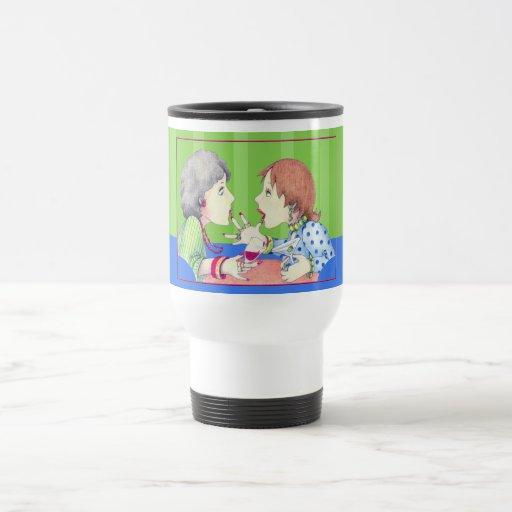 Buzz blue Travel Mug