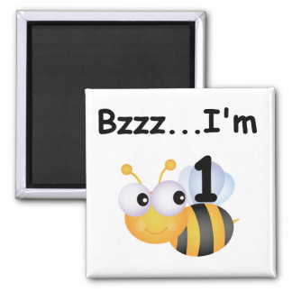 Buzz Bumblebee 1st Birthday T-shirts and Gifts Magnet