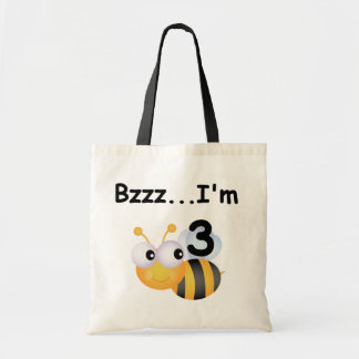 Buzz Bumblebee 3rd Birthday T-shirts and Gifts Tote Bag
