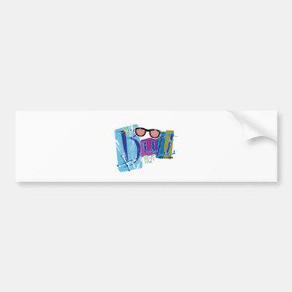 Buzz Bumper Sticker