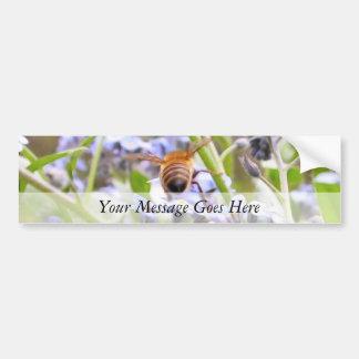 Buzz!  Busy Bee Backside Bumper Sticker