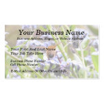Buzz!  Busy Bee Backside Business Card Templates