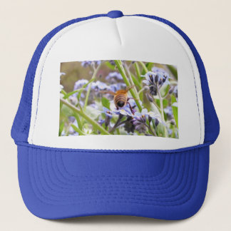 Buzz!  Busy Bee Backside Trucker Hat