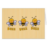 Buzz Buzz Bee Greeting Cards