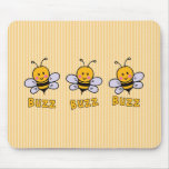 Buzz Buzz Bee Mouse Pad