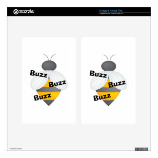 Buzz Buzz Buzz Decals For Kindle Fire