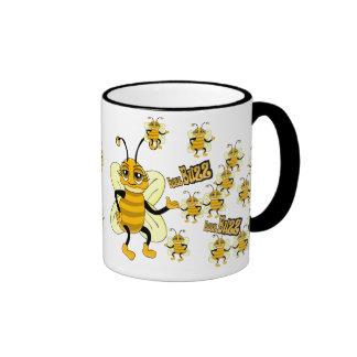 Buzz Buzz Ringer Mug