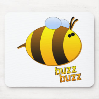 Buzz Buzz the Bumblebee Mouse Pad