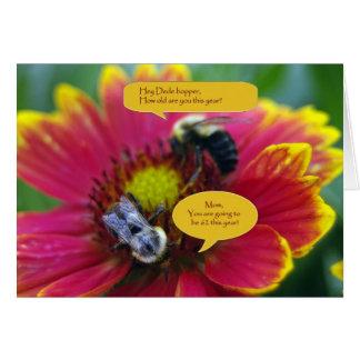 Buzz Conversation Card