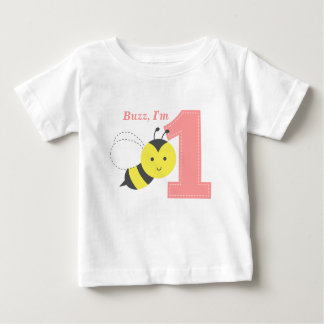 Buzz, I'm One, First Birthday, Cute Bee T-shirts