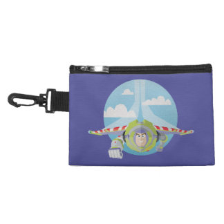 Buzz Lightyear Flying Despeckled Retro Graphic Accessory Bag