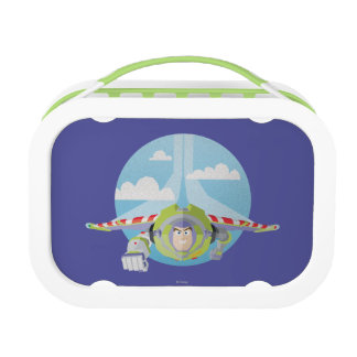 Buzz Lightyear Flying Despeckled Retro Graphic Lunch Box