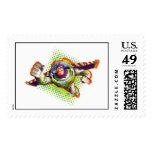 Buzz Lightyear Flying Postage Stamp