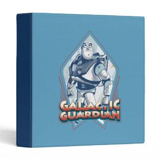 Buzz Lightyear: Gallactic Guardian 3 Ring Binders