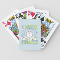 "Buzz Lightyear ""I Need Space"" Bicycle Playing Cards"