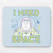 "Buzz Lightyear ""I Need Space"" Mouse Pad"
