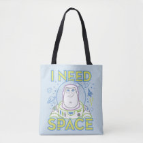 "Buzz Lightyear ""I Need Space"" Tote Bag"