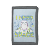 "Buzz Lightyear ""I Need Space"" Trifold Wallet"
