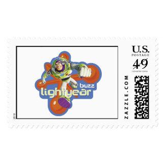 Buzz Lightyear Logo Stamp