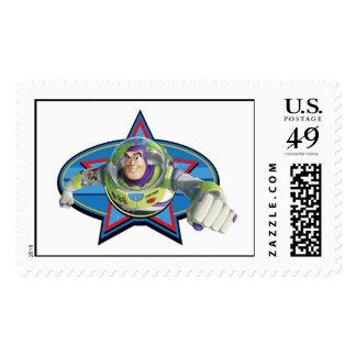 Buzz Lightyear Logo Postage Stamp
