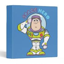 "Buzz Lightyear ""Space Hero"" 3 Ring Binder"