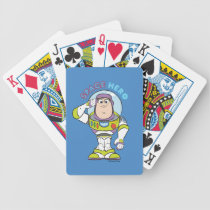 "Buzz Lightyear ""Space Hero"" Bicycle Playing Cards"