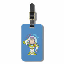 "Buzz Lightyear ""Space Hero"" Luggage Tag"