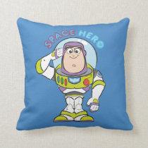 "Buzz Lightyear ""Space Hero"" Throw Pillow"